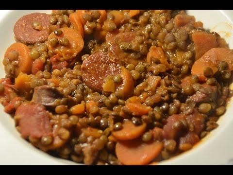 recette-cookeo-lentilles-chorizo-weight-watchers