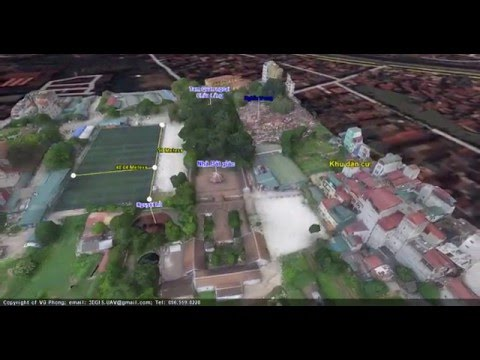3D GIS, 3D Mapping, UAV, point cloud, Lidar,