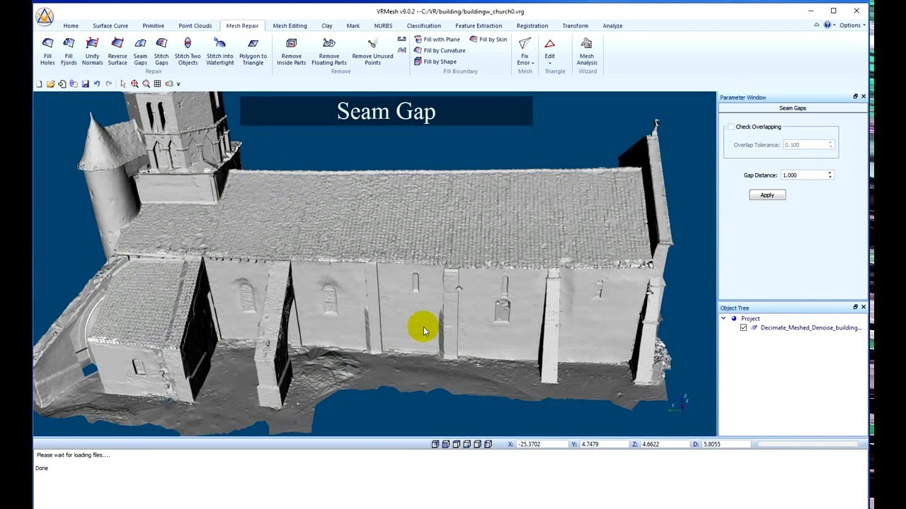 Point Cloud to Mesh