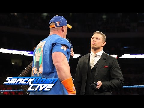 "John Cena and The Miz engage in a war of words on ""Miz TV"": SmackDown LIVE: Feb. 28, 2017"