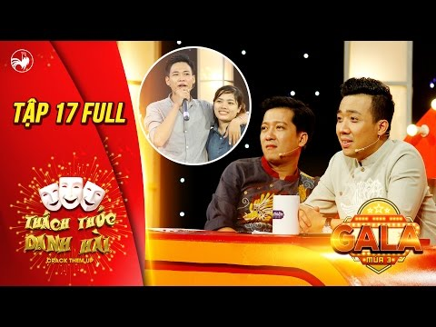 Thách thức danh hài 3|tập 17 full hd(gala 3): Trấn Thành cười liên tục trước hot boy trà sữa Tấn Lợi