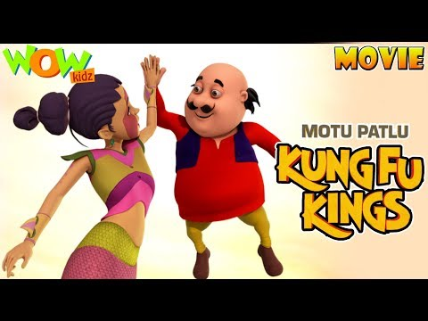 Motu Patlu KungFu Kings - Movie - ENGLISH,...