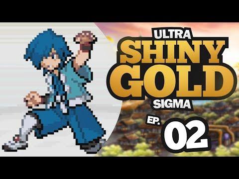 PRIMEIRO GINÁSIO! VS FALKNER! - Pokémon Ultra Shiny Gold Sigma #2 (HACK ROM GBA +DOWNLOAD)