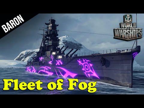 Arpeggio of Blue Steel, Fleet of Fog! - World of Warships