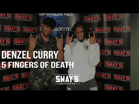 Denzel Curry Kicks an Impressive 5 Fingers of Death Freestyle Completely Off The Dome