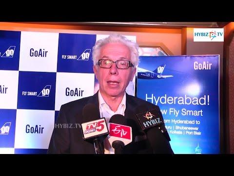 Wolfgang Prock-Schauer - GoAir begins operations from Hyderabad | hybiz