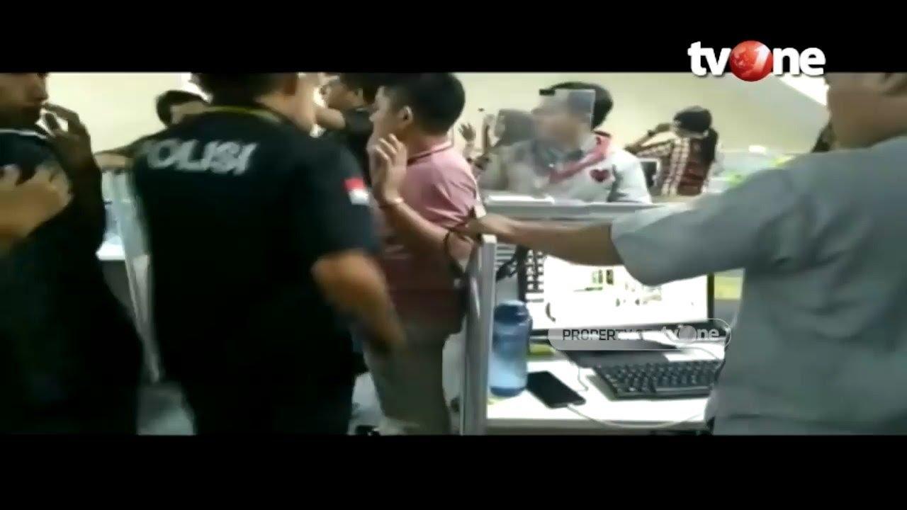 Detik Detik Penggerebekan Kantor Pinjaman Online Ilegal Jakarta