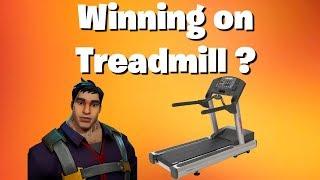 Winning on Treadmill? Let