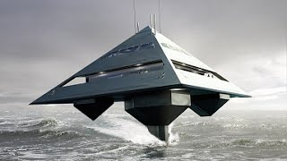 Tetrahedron Superyacht - The Luxurious Superyacht That Looks Like an Alien Spaceship