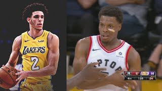 #Raptors vs Lakers