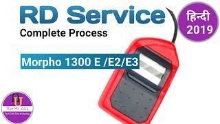 Morpho Icons- MSO-1300 E3 Biometric Fingerprint Scanner with RD