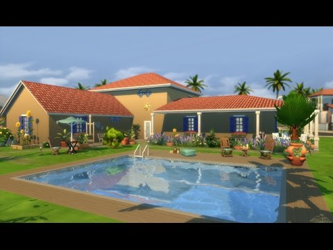 Let 39 s build une maison proven ale dans les sims 4 youtube for Maison de repos la provencale