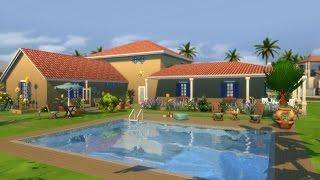 [Let's Build] Une Maison provençale dans les Sims 4