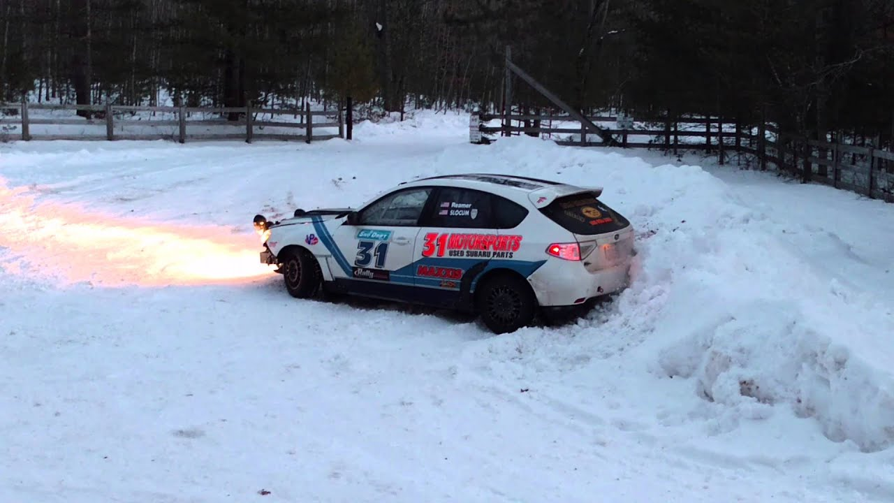 1 Sno* Drift Rally, Atlanta, MI - YouTube