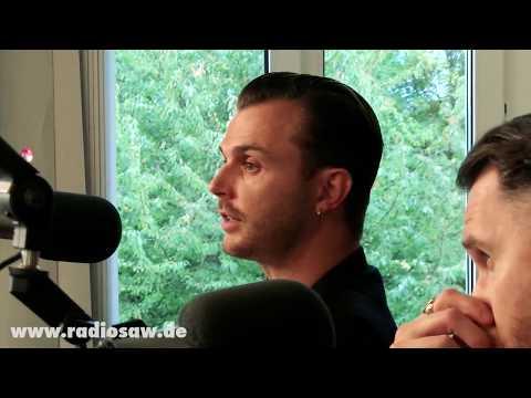 Hurts zu Besuch bei radio SAW