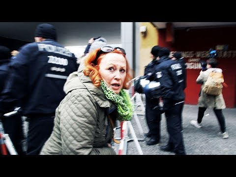 Antifa Attack German Women For Protesting Rape