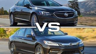 Buick LaCrosse vs Honda Accord