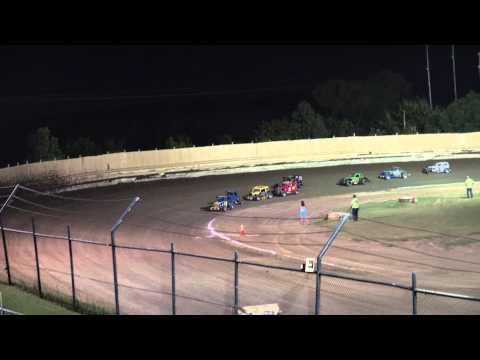 7-25-2015 Dwarf Car A-Feature Creek County Speedway