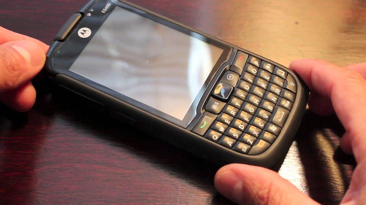 Motorola ES400 Charging Videos - Waoweo