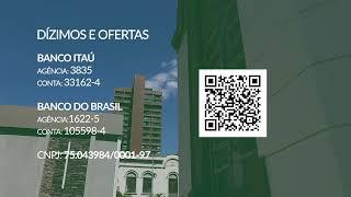 26/07/2020 - 9h - Culto ao Vivo - Rev. Davi Nogueira Guedes