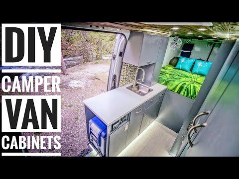 How To Build DIY Campervan Cabinets