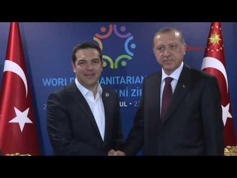 President Erdoğan teases Greek PM Tsipras over tie