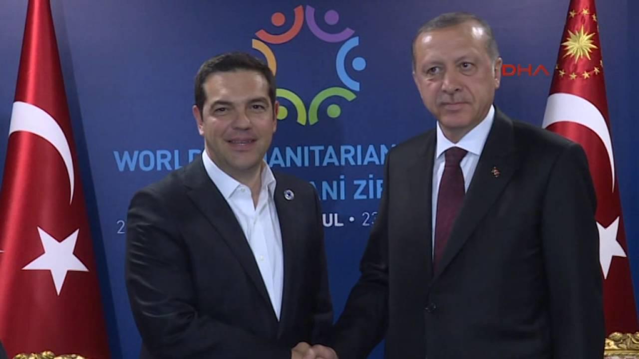 VIDEO: Turecký prezident Erdogan se zeptal Tsiprase, proč přišel bez darované kravaty
