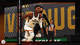 NBA 2K20 PC Donovan Mitchell & Jamal Murray Highlights