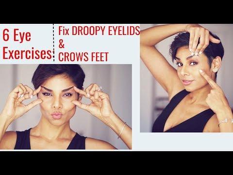 6 Eye Exercises: Tighten Droopy Eyelids And Reduce Wrinkles Around Eyes/ Blushwithme-Parmita