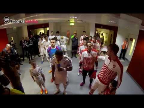 Tunnel Vision: behind the scenes at Arsenal v Swansea