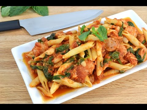Sausage Penne Pasta Recipe | RadaCutlery.com