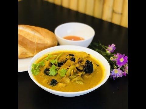 Món Cari ỐC BƯƠU béo ngậy với nước cốt dừa – Món ăn xa quê by Ẩm thực Việt