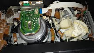 Inside A VCR: Rewinding A VHS Tape