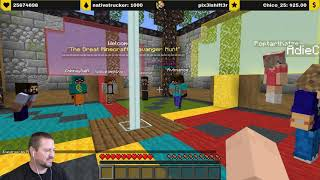 3/26/2021 - The Great Scavenger Hunt! Minecraft Competition #TeamYellow (Stream Replay)