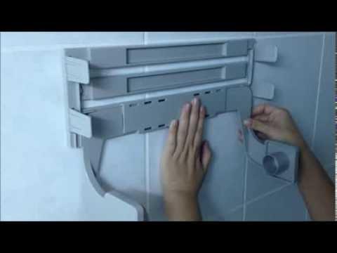 Quality Taiwan Made Portable Kitchen Roll Holder Cling Film U0026 Aluminum Foil  Dispenser   YouTube