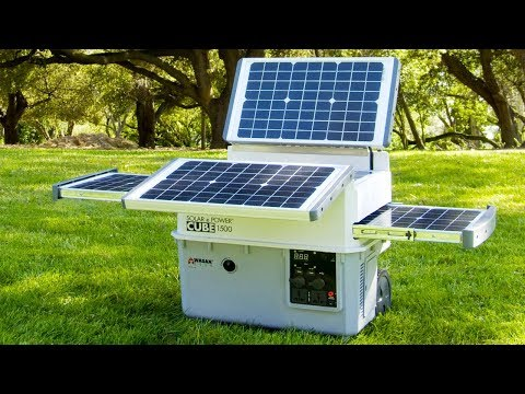5 Best Portable Solar Power Generator for Outdoors