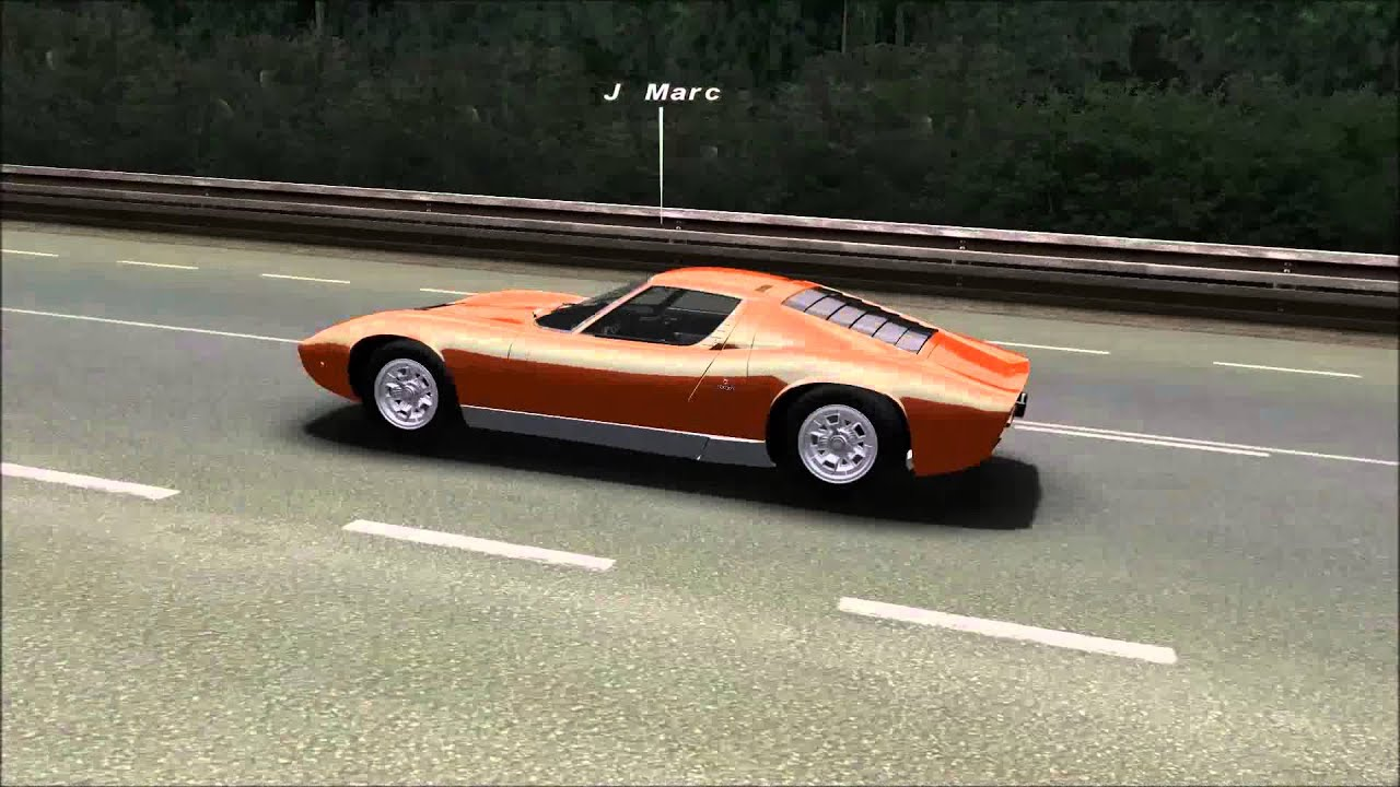 Rfactor Lamborghini Miura Le Mans 1979 Youtube