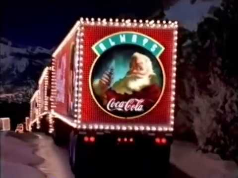 Coca Cola Christmas Advert 1 Holidays Are Coming 1995 Youtube