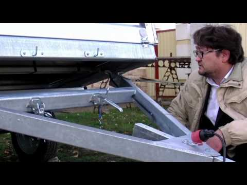 усиленный оцинкованный прицеп к легковому автомобилю для снегохода квадроцикла