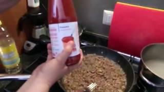 28 video Итальянская кухня  Мясной соус