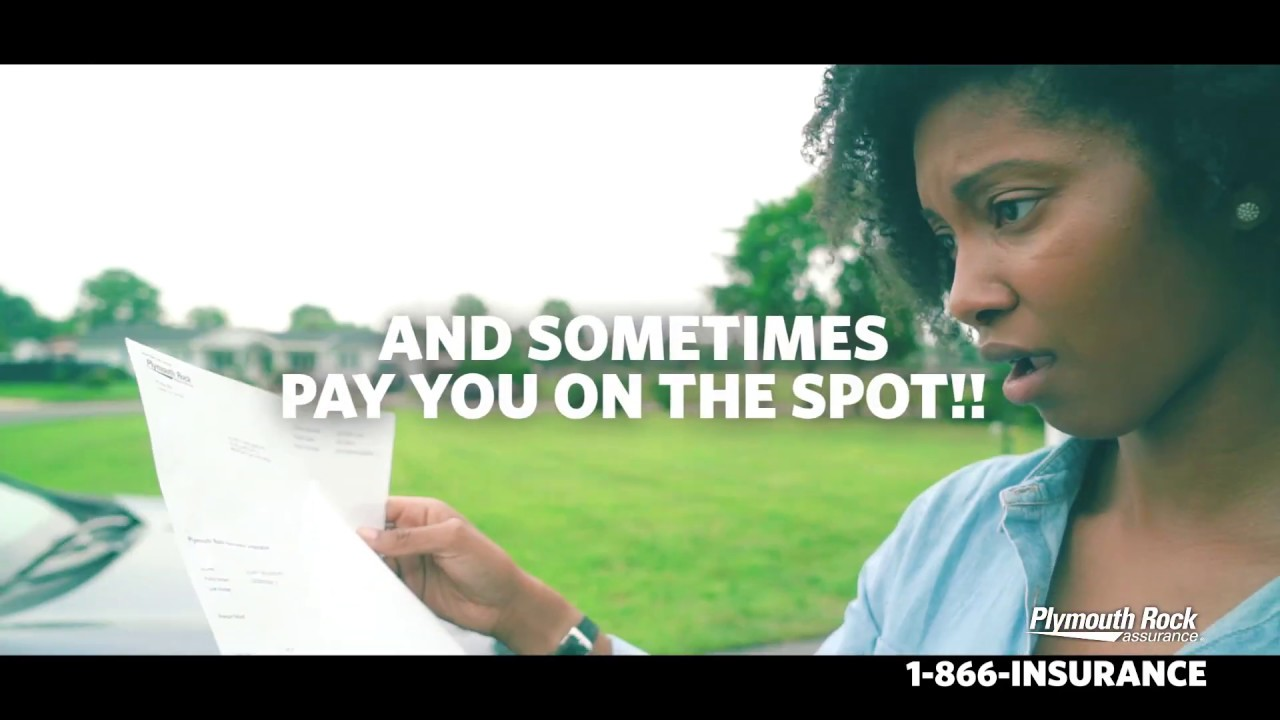 Get Paid On The Spot with Plymouth Rock Assurance - YouTube