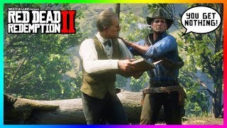What Happens If Arthur Kicks Out Leopold Strauss With NO MONEY To Give Him In Red Dead Redemption 2?