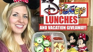 5 DISNEY LUNCHES For Kids and a Southern California Vacation GIVEAWAY!