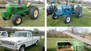 Sale Price Report from central Tennessee Farm Auction Yesterday