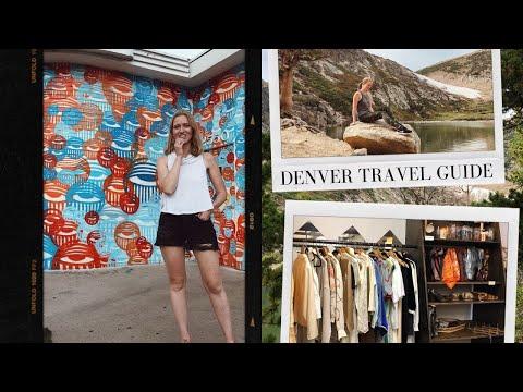 Travel With Me To Denver, Colorado   Travel Vlog