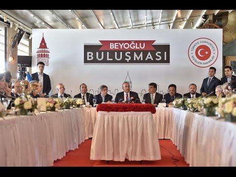 Ahmet Misbah Demircan - Beyoğlu Buluşmaları Konuk Mevlüt Çavuşoğlu - 1