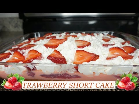 EASY Strawberry Short Cake| Summer Dessert