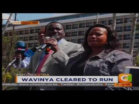 Citizen Extra:  Wavinya cleared to run