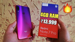 Redmi Note 7 Pro Nebula Red Unboxing & Colour Comparison | Indian Retail Unit 🔥🔥