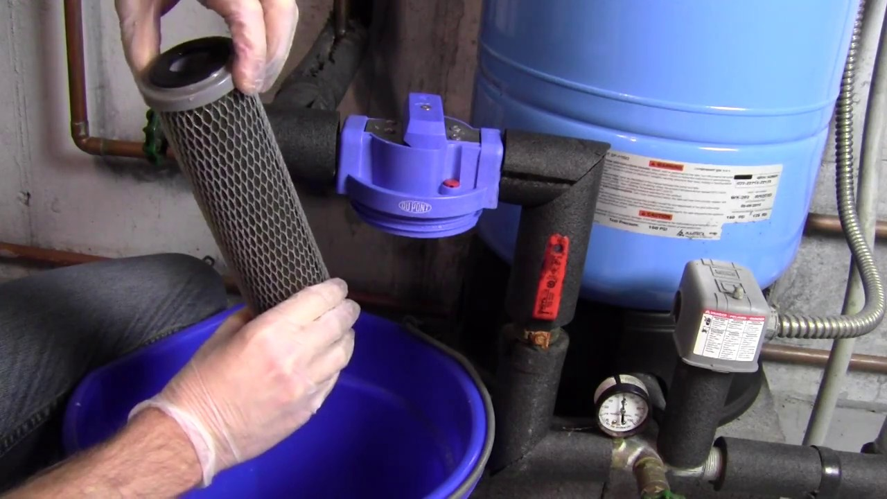 How To Change A Whole House Water Filter Dupont Brand